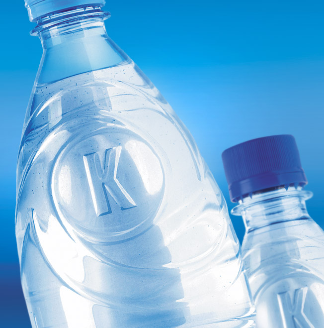 Printing materials & packaging , Packaging of bottled water «Kimeriyskaya»