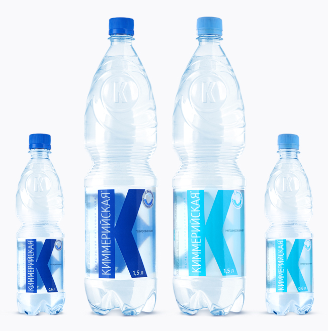 Printing materials & packaging , Packaging of portable water «Kimmeriskaya»