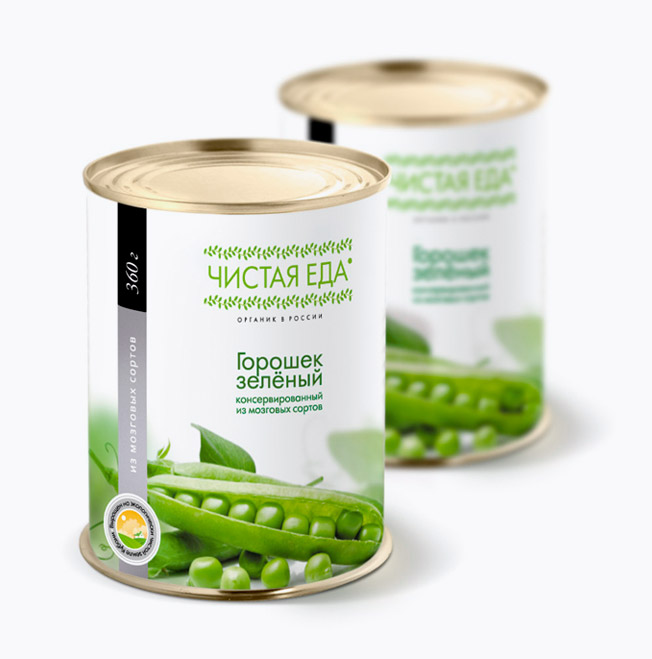 Printing materials & packaging , Canned food labels
